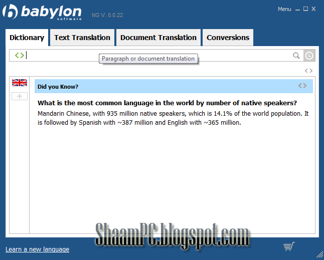 Babylon Translation Software Helps You Understand The World You Can Instantly Translate Words Paragraphs And Entire Documents While Also Receiving