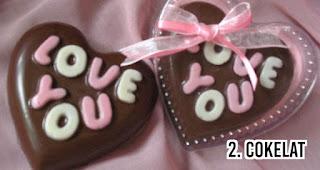 Cokelat menjadi Hadiah Paling Berkesan Untuk Pacar Anda