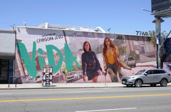 Vida season 2 wall mural ad