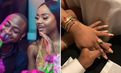Affirmation 2020: Nigerians respond as Davido proposes, Chioma at last uncovers pregnancy