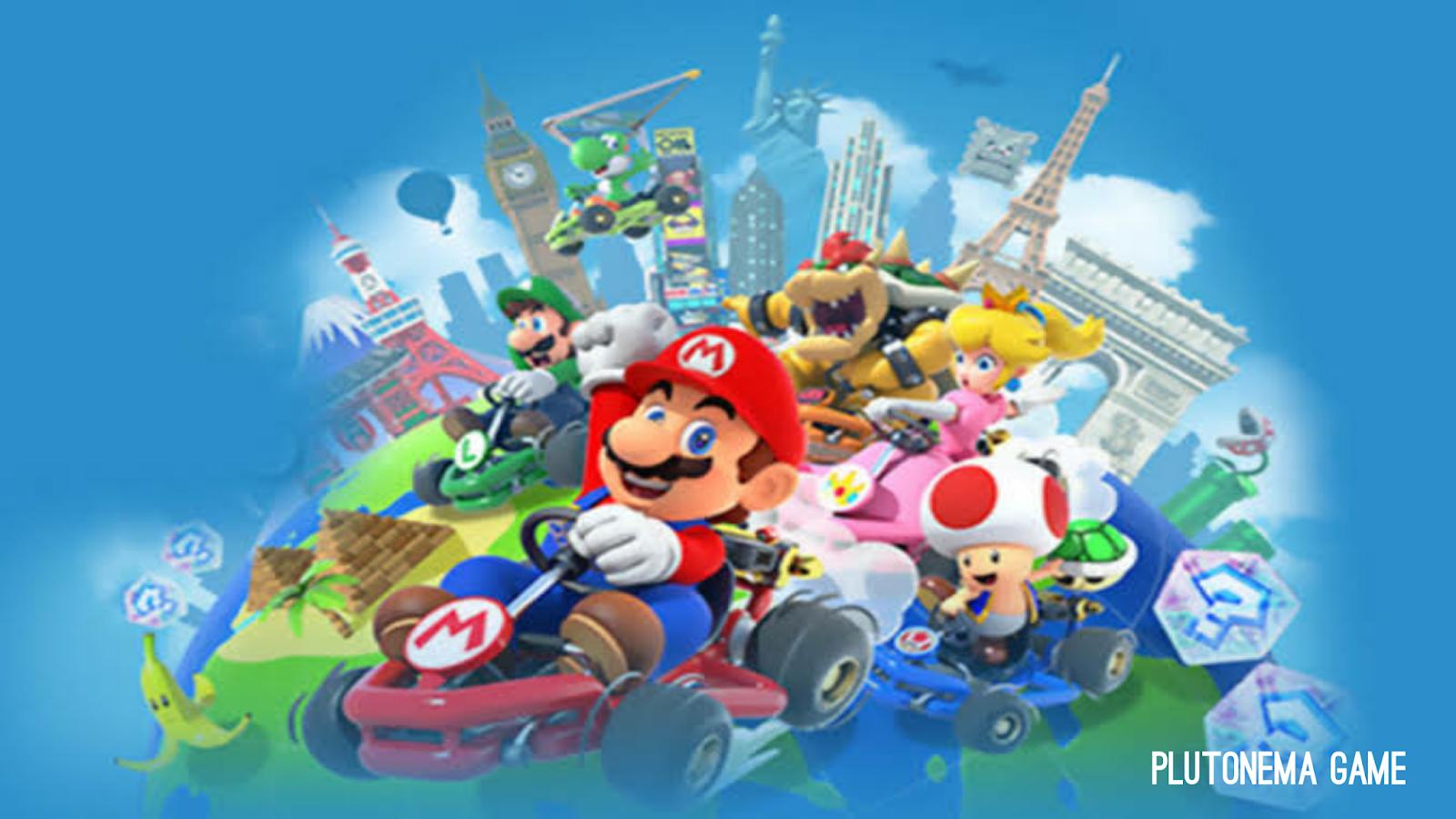 pra pendaftaran mario kart tour sudah bisa dilakukan untuk perangkat Android dan IOS, tanggal rilis mario kart tour, mario kart tour review, game terbaryli nintendo, info game terbaru, kabar game terbaru, berita seputar game terbaru,