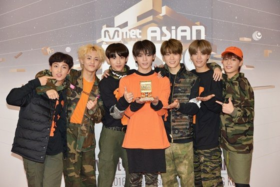 NCT 127 Best New Male Artist
