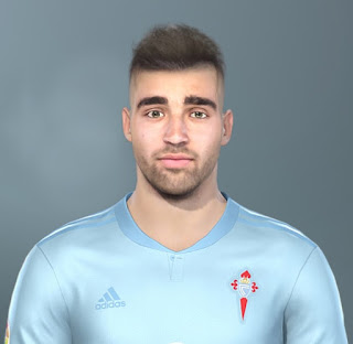 PES 2019 Faces Brais Méndez by Jarray & The White Demon