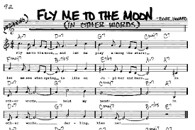 Frank Sinatra - Fly Me To The Moon Piano Sheet Music Free