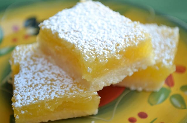 gluten-free vegan lemon squares recipe frugal fitness