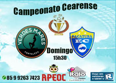 Campeonato Cearense C | Pacatuba fica no empate sem gols diante do Verdes Mares