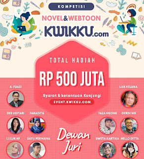 Lomba menulis novel dan webtoon