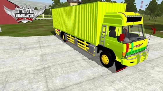 Mod Truck Tua Hino Ranger Box
