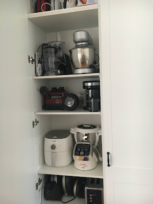 Appliance Cupboard in the new kitchen