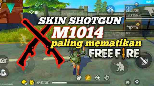 Skin Shotgun M1014 Paling Sakit & Mematikan