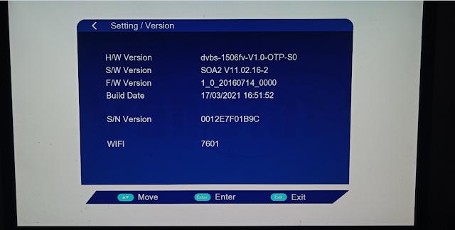 VANSTAR V8 PRO 1506FV 512 4M NEW SOFTWARE 17 MARCH 2021