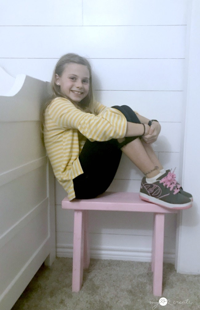 How to make a small bench for kids