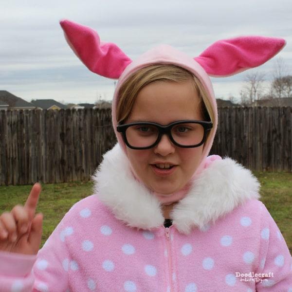 Ralphie's Bunny Costume