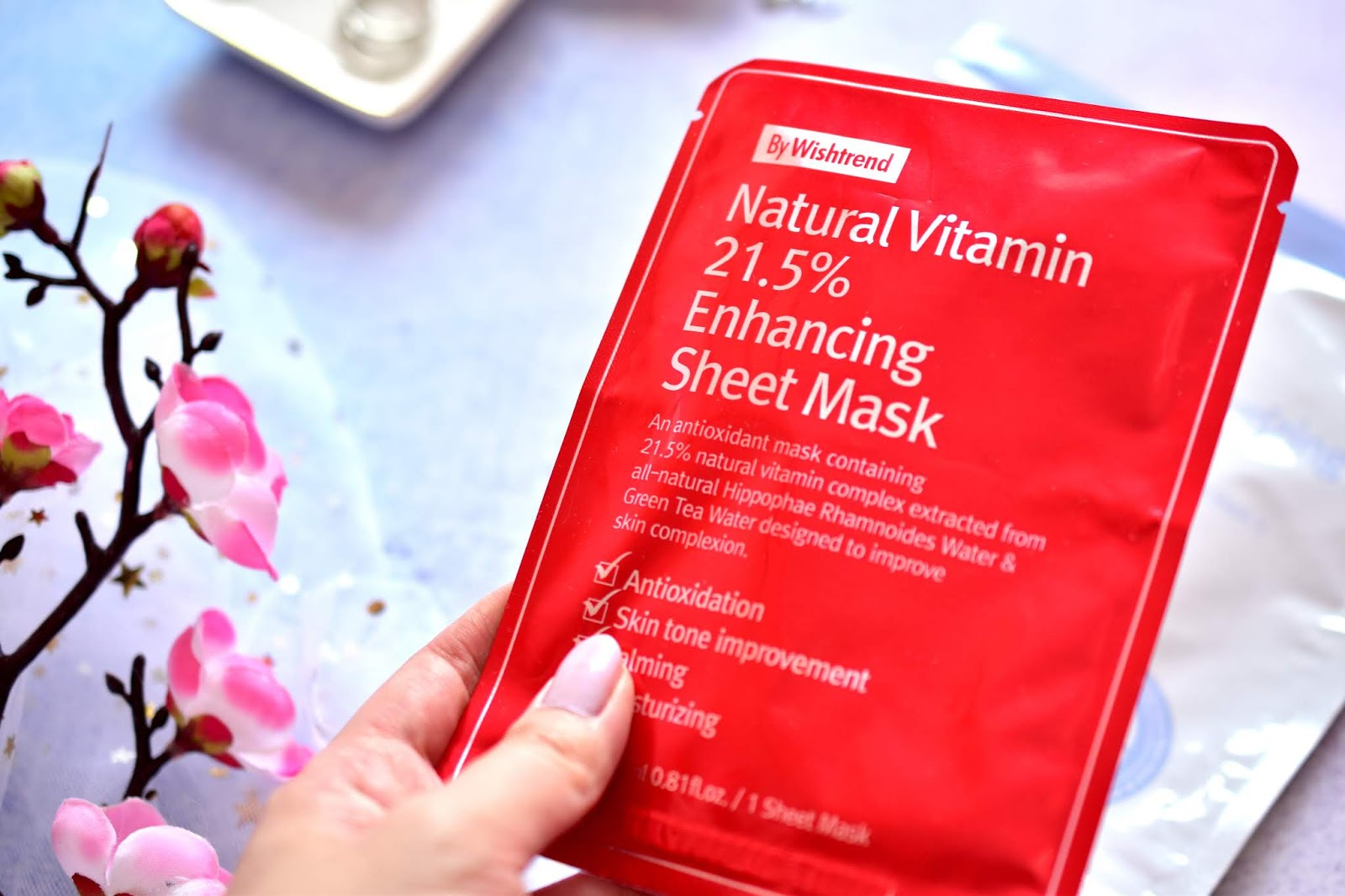 By Wishtrend Natural Vitamin 21,5 % Enhancing Sheet Mask
