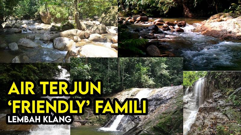 Senarai Kawasan Air Terjun Sekitar Lembah Klang dan Selangor Sesuai Untuk Keluarga