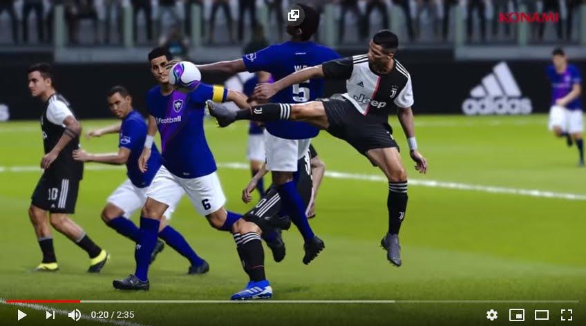 La Juventus vuole vincere anche ai videogiochi: accordo milionario per Efootball Pes 2020 di Konami.