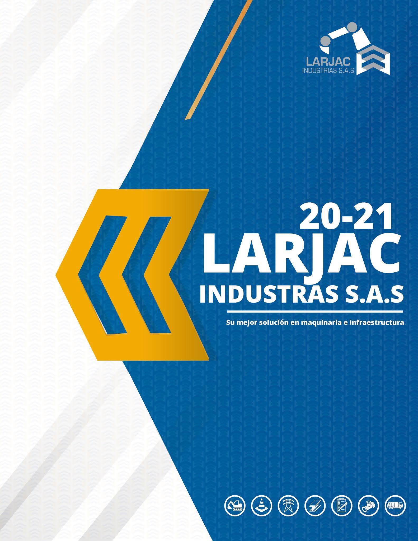 MAQUETADO DE BROUCHURE: LARJAC INDUSTRIAS S.A.S