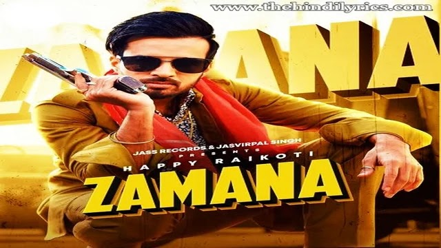 Zamana Lyrics – Afsana Khan