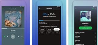 aplikasi pemutar musik di android  terbaik & gratis - online & offline- spotify lite