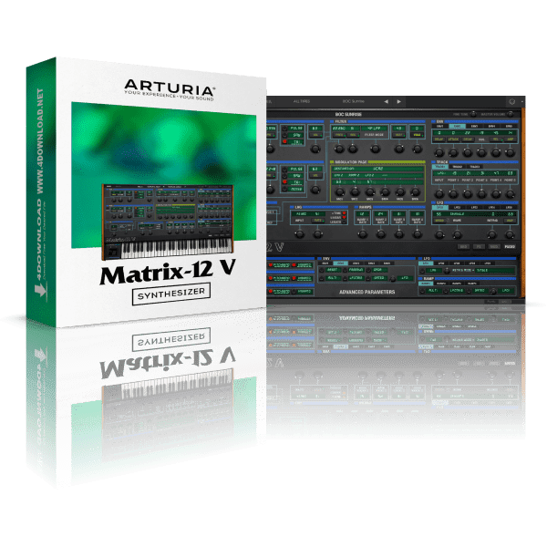 Arturia Matrix-12 V2 2.7.1.1263 Full version