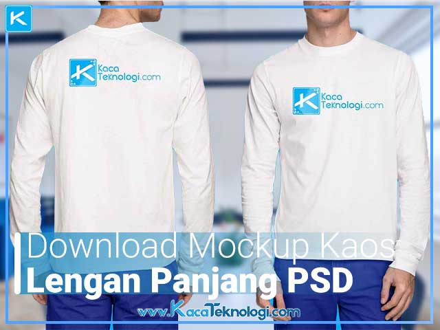 Download Download Template Mockup Kaos Lengan Panjang PSD Gratis ...