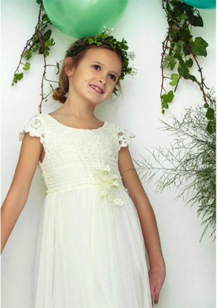 Vestidos de fiesta moda verano 2018 para nenas.