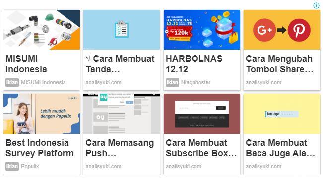 Cara Mudah Mendapatkan Iklan Matched Content Google AdSenser