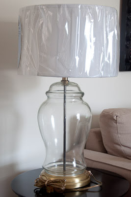 Krylon Looking Glass Mercury Glass Lamp