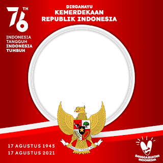 Twibbon Tema Hari Kemerdekaan RI 2021 Ke-76