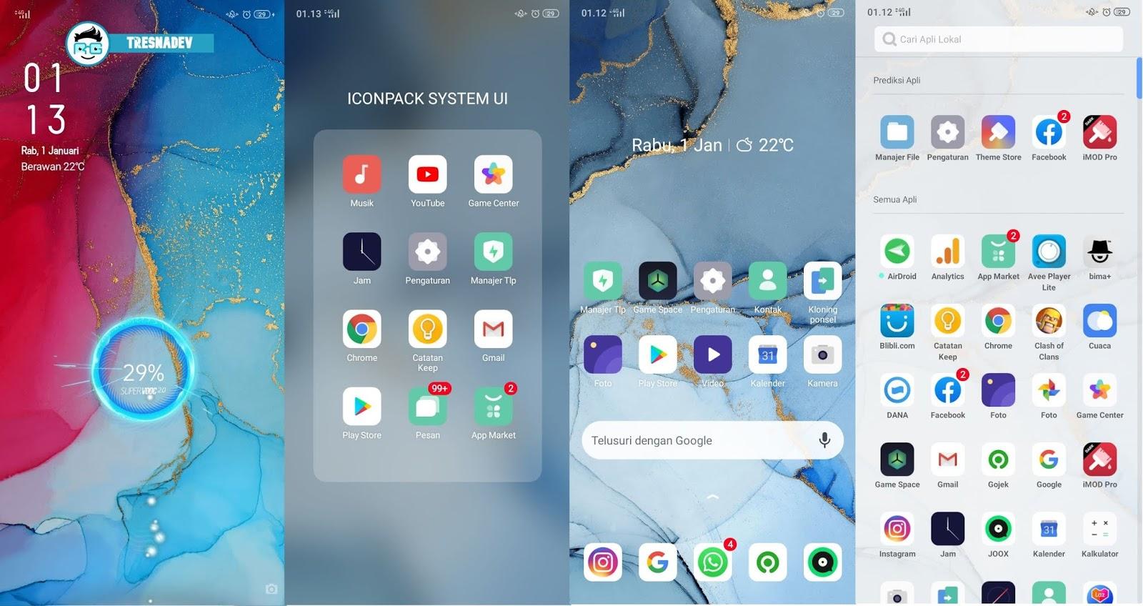 Themes Oppo Reno 3 Pro UI for OPPO & Realme