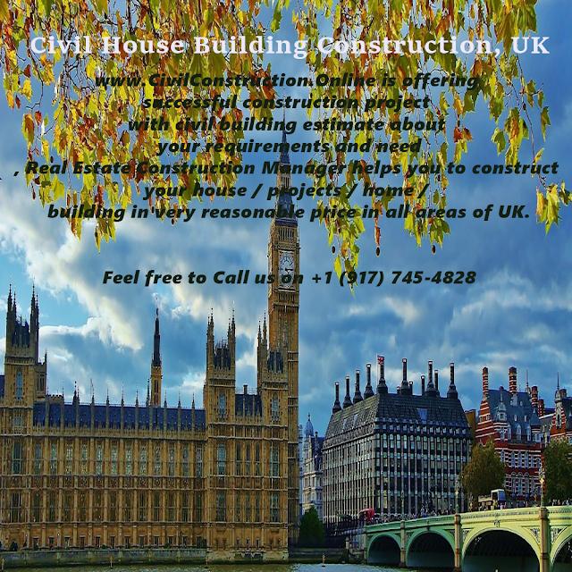 Civil House Building Construction, Kingston, UK