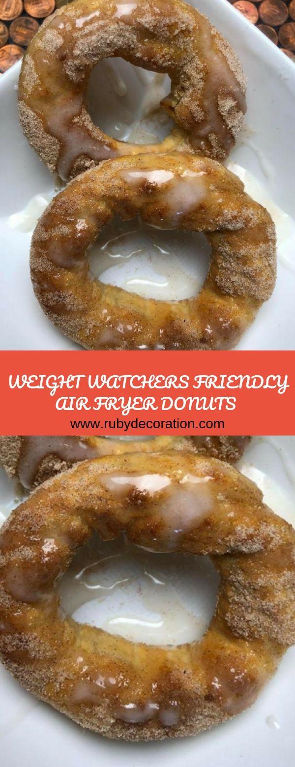 Weight Watchers Air Fryer Donuts