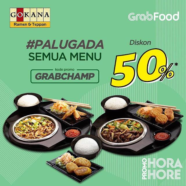 #Gokana - #Promo Voucher PALUGADA Diskon 50% Pakai GRABFOOD (s.d 28 Juli 2019)