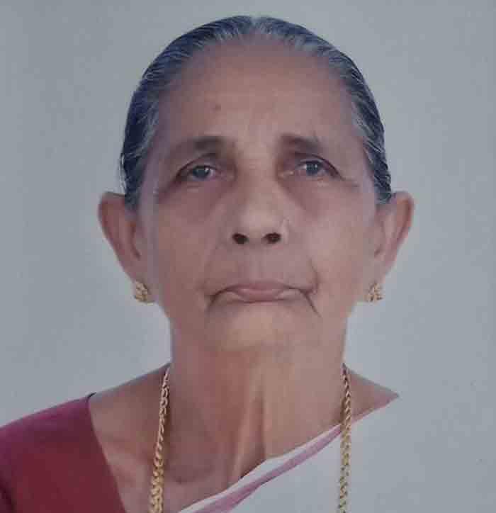K Narayani of Kundamkuzhi Balanadukka passed away