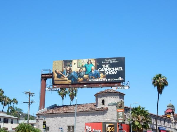 Carmichael Show NBC billboard