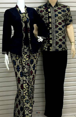 Model Kebaya Couple Batik Pasangan Muda