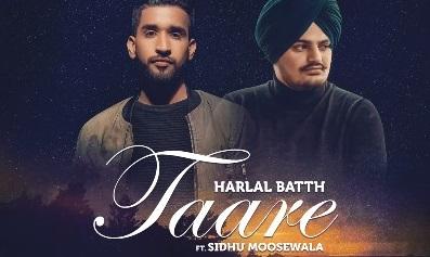 तारे (Taare) Lyrics Sidhu Moonsewala and Harlal Batth