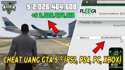 Kumpulan Kode Cheat GTA 5 Terbaru Paling Lengkap