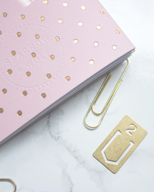 Quirky cute stationery from Birmingham based Sparrow + Wolf.