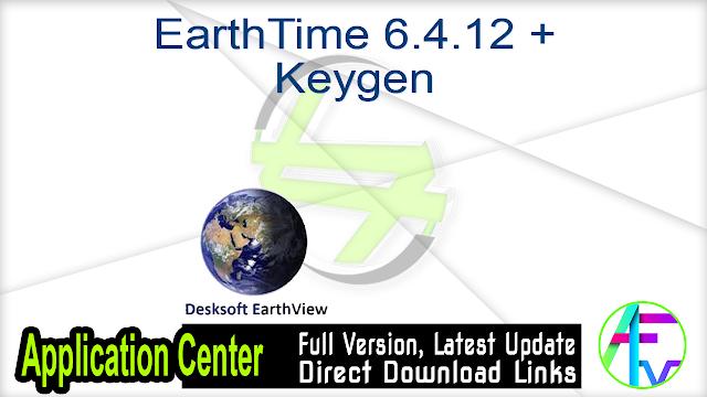 EarthTime 6.4.12 + Keygen