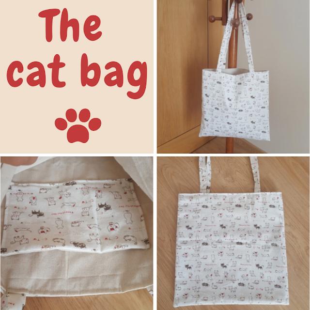 The cat bag