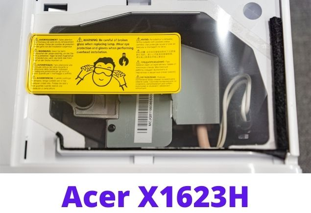 Acer  x1623h projector connector 2
