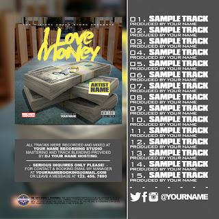 Mixtape Cover Back