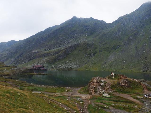 Lacul Balea (jez. Balea) 2042 m.n.p.m. Zaczynamy wyjście w góry