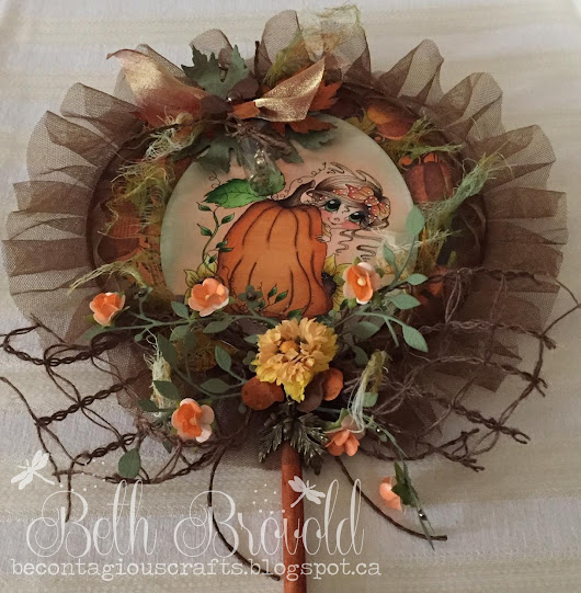 "Scrapbook Stamp Society Challenge #126-""Autumn"""