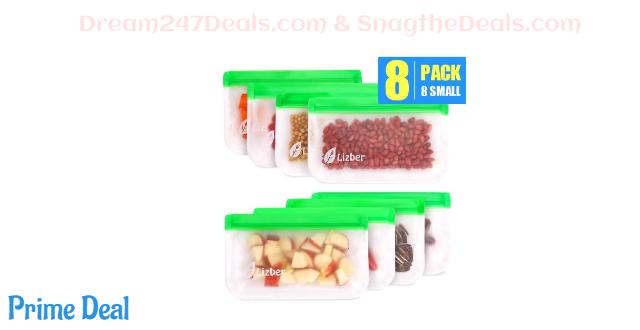 30% off Reusable Freezer Food Bags