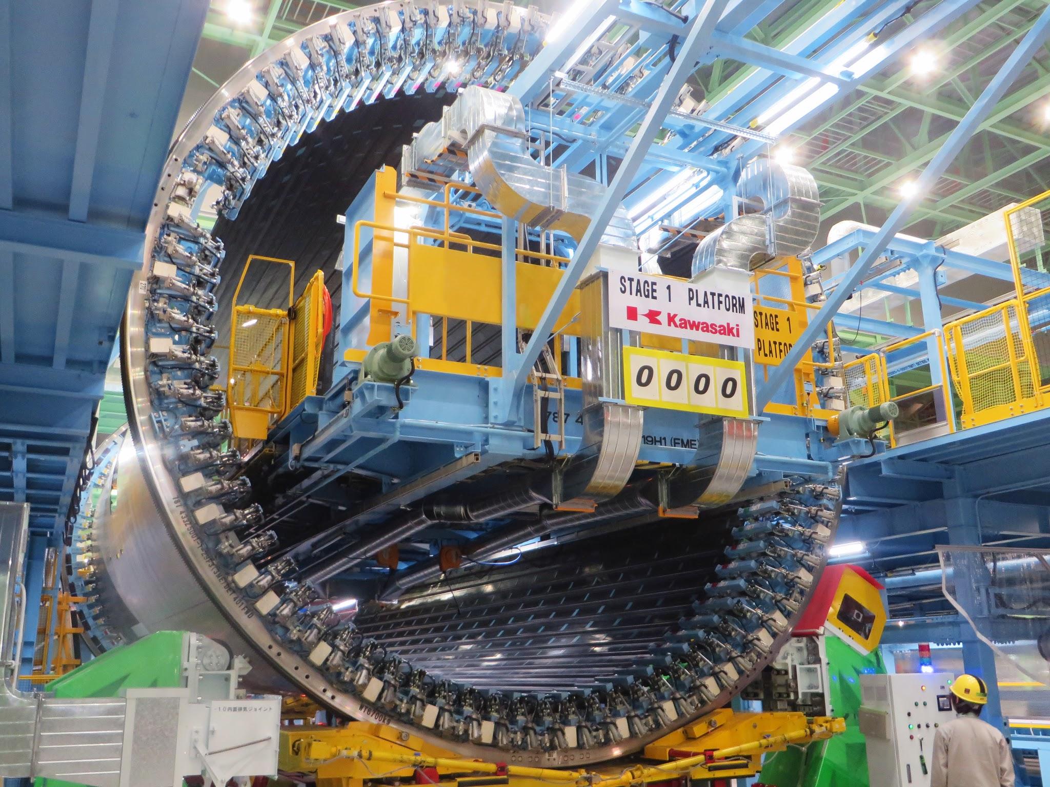 Boeing inicia a maior fase de montagem do primeiro Boeing 787-10