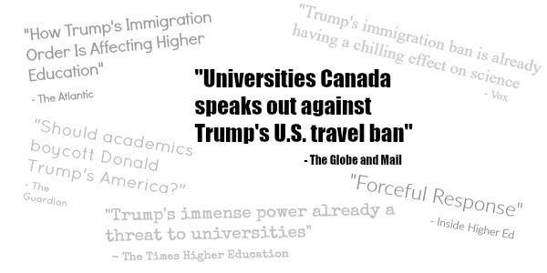 The World of Higher Ed Reacts to the U.S. Travel Ban