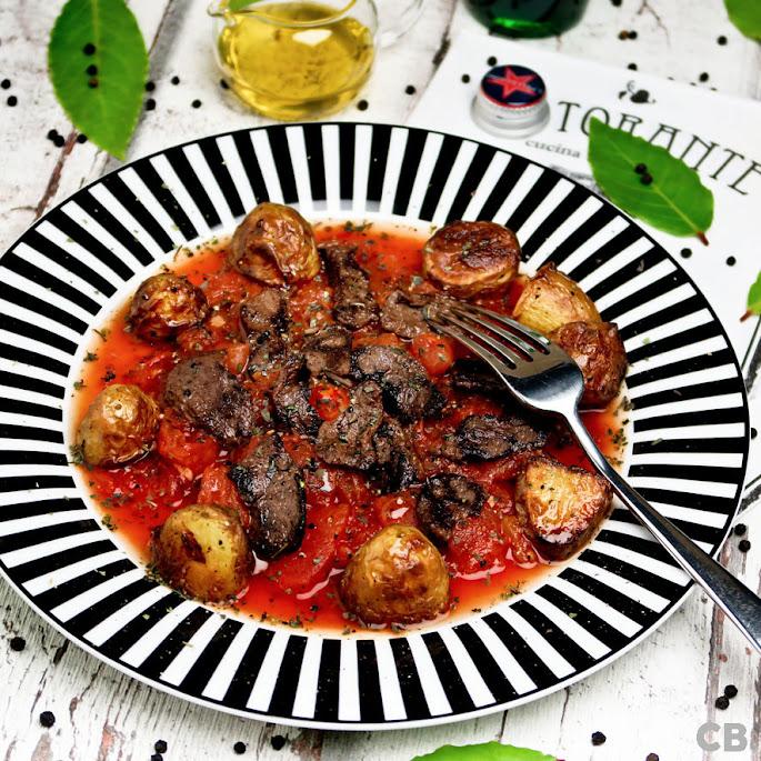 Recept: zo maak je zelf biefreepjes in een chunky verse tomatensaus met oregano