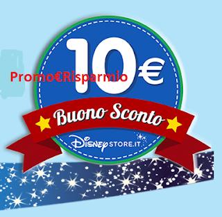 Logo Buono sconto Disney Store da 10 euro con Napisan